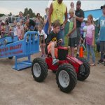 Fun for all ages! Kidde tractor pull